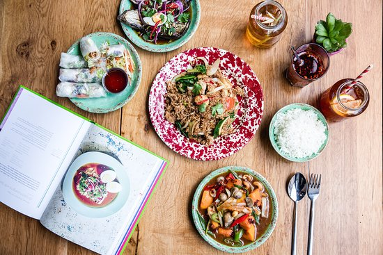 Rosa's Thai Cafe Veggie Cookbook