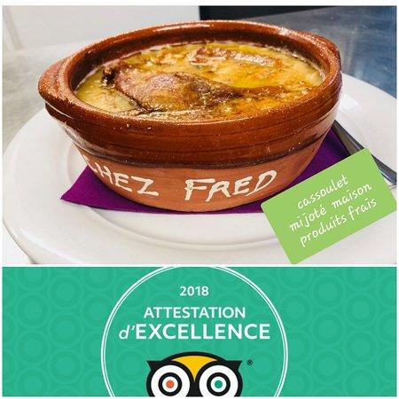 Cassoulet Fait Entierement Maison Picture Of Chez Fred Carcassonne Center Tripadvisor