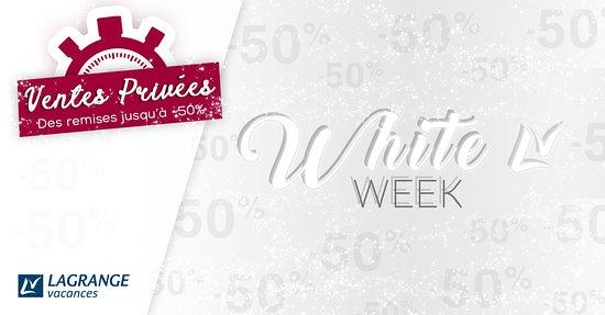 Francia: Chez nous #cybermonday se dit #whiteweek = 5 jours pour réserver vos vacances d'hiver à - 50% ! 😲 ➡️ https://bit.ly/2Qj0GCJ Dépêchez-vous les réservations sont limitées ! 😉