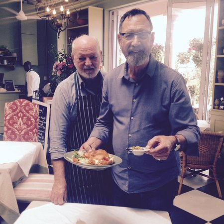 Owners Len & Johan ready to serve their customers