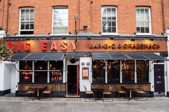 Big Easy Chelsea London Chelsea Menu Prices Restaurant Reviews Order Online Food Delivery Tripadvisor
