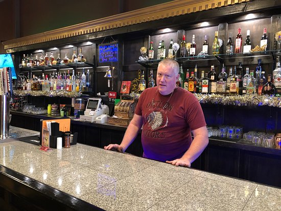 Louisiana, MO:  A great bartender with outstanding customer service and mixology skills.