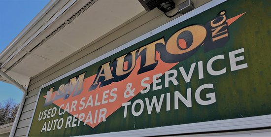 East Otis, MA: L&M Auto @ Papa's Healthy Food & Fuel provides Auto Repairs, State Inspections and Pre-Owned Vehicle Sales