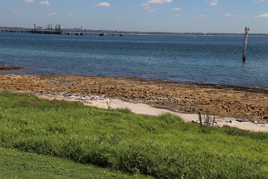 Kurnell, Australia: View on the water