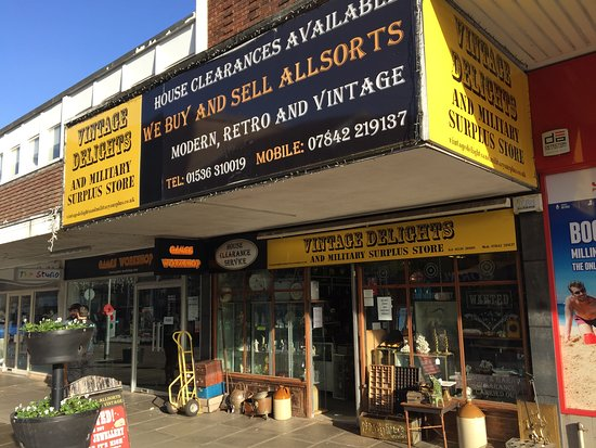 Vintage Delights & Military Surplus Kettering
