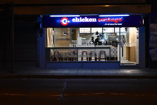 Chicken Cottage, Victoria Road Old Town, Swindon. The best fast food outlet in Old Town, Swindon.