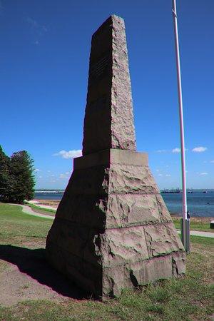 Kurnell, أستراليا: A long pilar