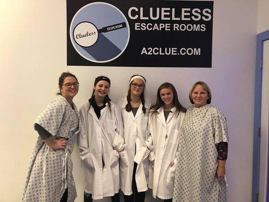 Анн-Арбор, Мичиган: Thanks for playing at Clueless