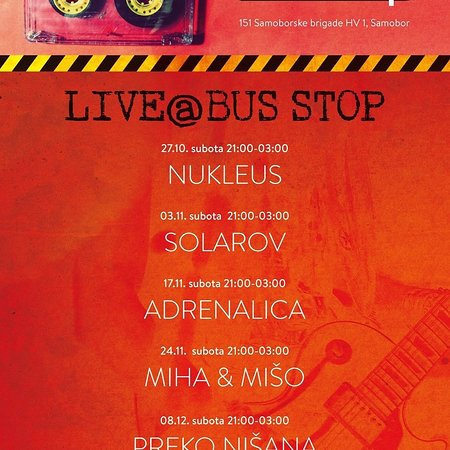 Samobor, โครเอเชีย: Bus Stop Caffe Bar