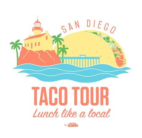 Taco Tour San Diego Logo #2