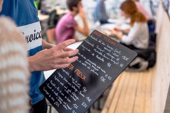 Antonella Messina Chef Siciliana Que Mantiene La Esencia Picture Of Eroica Caffe Barcelona Tripadvisor