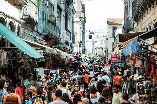 Saara Shopping District Tour in Rio de Janeiro