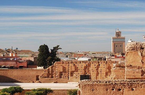 Rondleiding door de stad in Marrakech ...