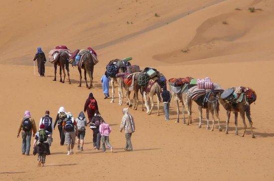 ANO NOVO Trek em Marrocos em 2019: 7...