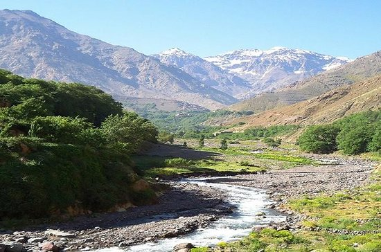 Private day trip to Ourika waterfalls...