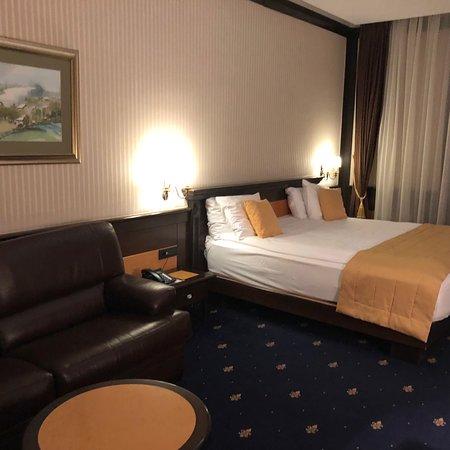 The good five stars hotel in center of Sarajevo