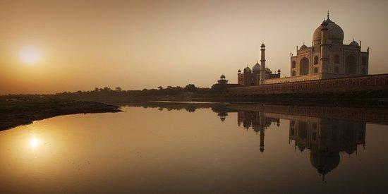 Agra, India: Sunrise Taj Mahal at #clasictoursindia