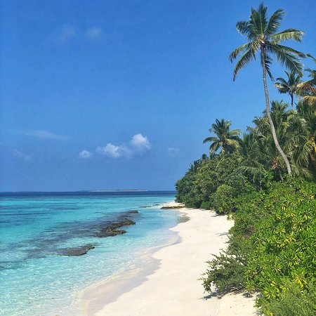 A glamorous slice of Maldives perfection