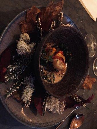 Restaurang Ekstedt: lobster