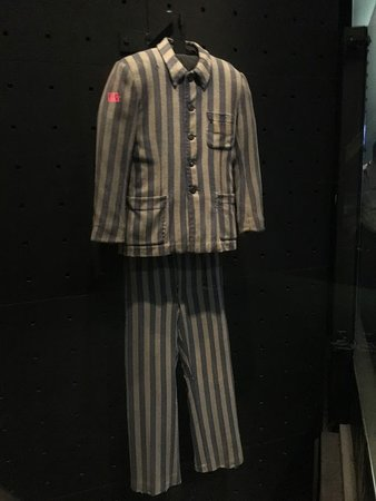 Uniforms at some concentration camps