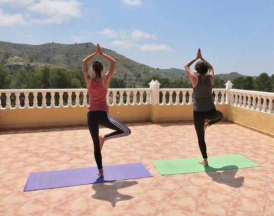 Aigues, Испания: Roof terrace, Azotea, Dakterras