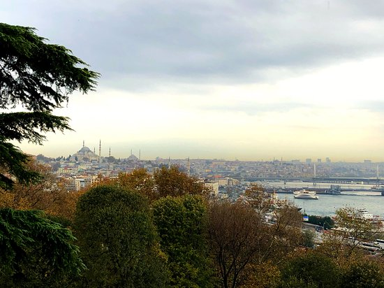 The view from inside the final gate at Topkapi Palace
