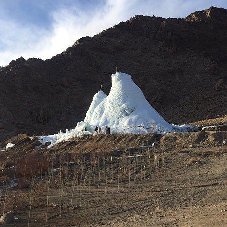 Ice Stupa Artificial Glaciers