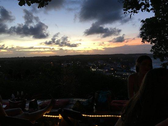 Прайя-де-Пипа: Vista do Mirante Sunset Bar