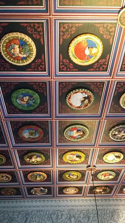 Its a  room ceiling!