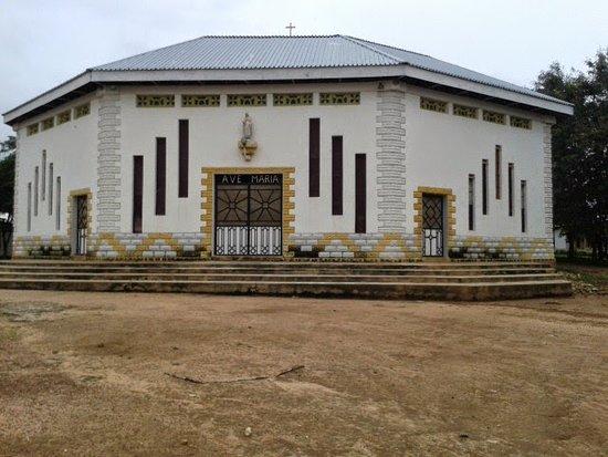 Central African Republic: Catholic church -Bocaranga in CAR