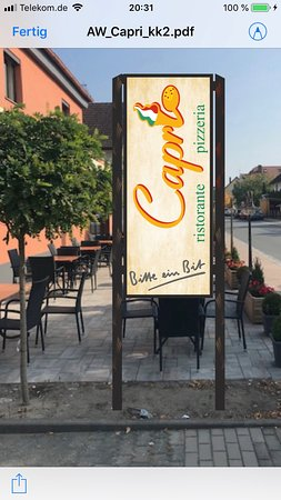 Hessdorf, Germany: Pizzeria Capri