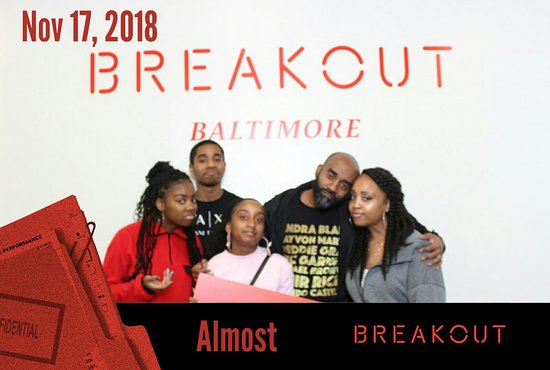 Breakout Games - Baltimore (Columbia) 사진