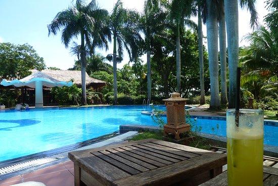 Tuy Hoa, Vietnam: Sehr schöner Poolbereich