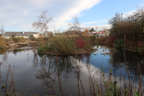 Buncrana, ไอร์แลนด์: Park is opposite Circle K Garage on Railway Road