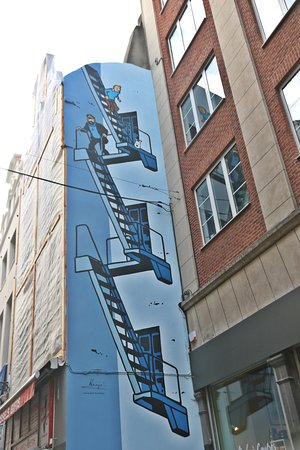 Tintin Mural Painting Brussels 2019 All You Need To Know Before