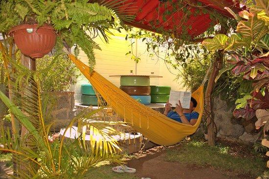 Relax en el jardín