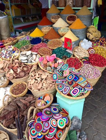 Some of the best and most colourful ingredients can be found in the souks