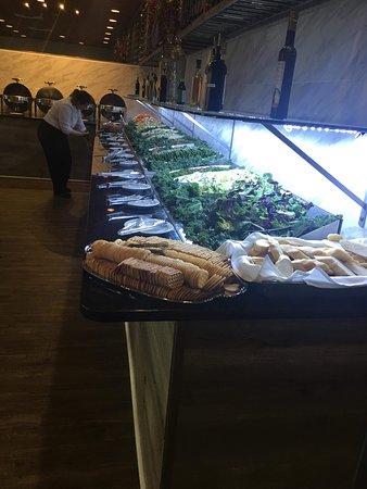Rio De Brazil Steakhouse: Our extensive salad bar.