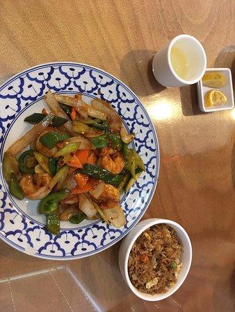 Kirin China Grill: Szechuan Shrimp