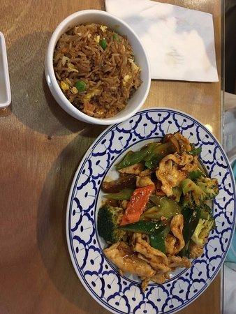 Kirin China Grill: Mixed Vegetables & Chicken