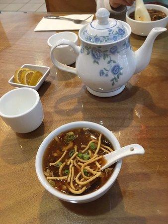 Kirin China Grill: Hot & Sour Soup