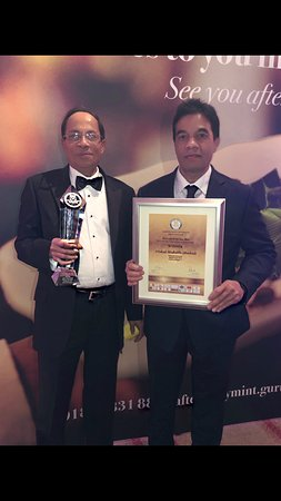 """Both Owners and Brothers, Shabul and Kabul (Chef) are delighted in recieving this prestigious award for """"Chef of the Year 2018"""". Maharani was taken over by these two in 1985. Over 30 years in the trade!"""