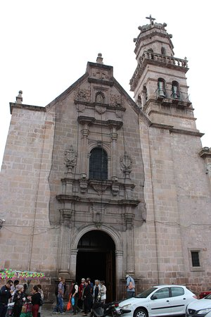 Unassuming outside of Guadalupe Sanctuary