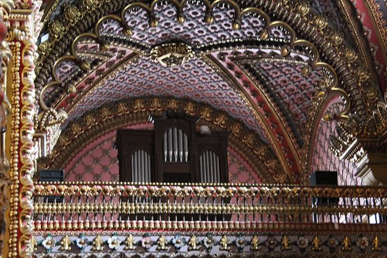 Organ of Guadalupe Sanctuary, I wish I could have been there to hear it play.