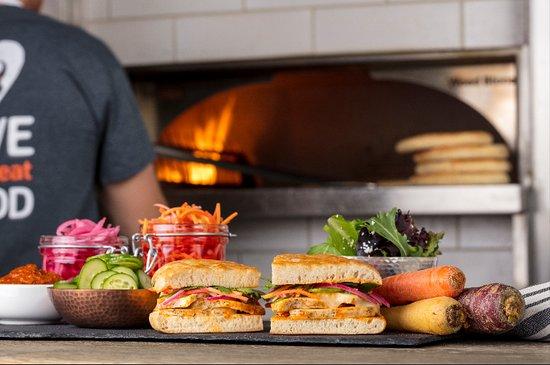 Mira Mesa, Californie: Moroccan Sandwich