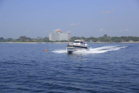 Nacha Fast Boat: Boat from Sanur