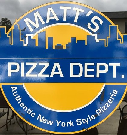 Matt's Pizza Dept.: Matt's Pizza Dept-Authentic NY Style pizzeria