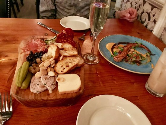 5church Charlotte Charcuterie And Grilled Octopus