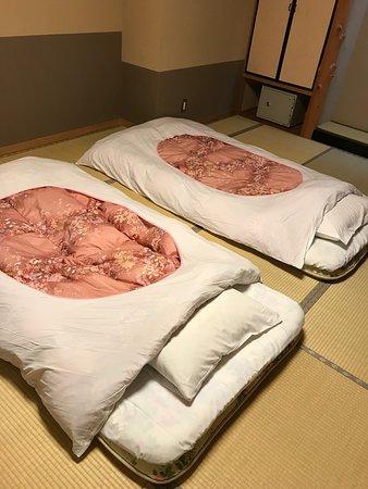 Yuzanso: Tatami beds