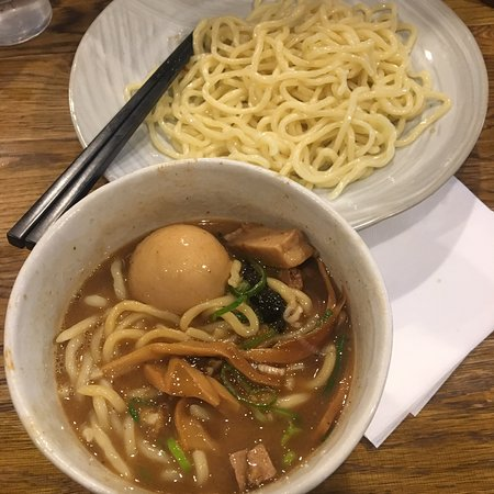 Tsukemen for the first time
